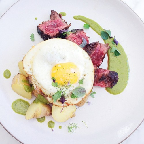 Josephine House Steak & Eggs