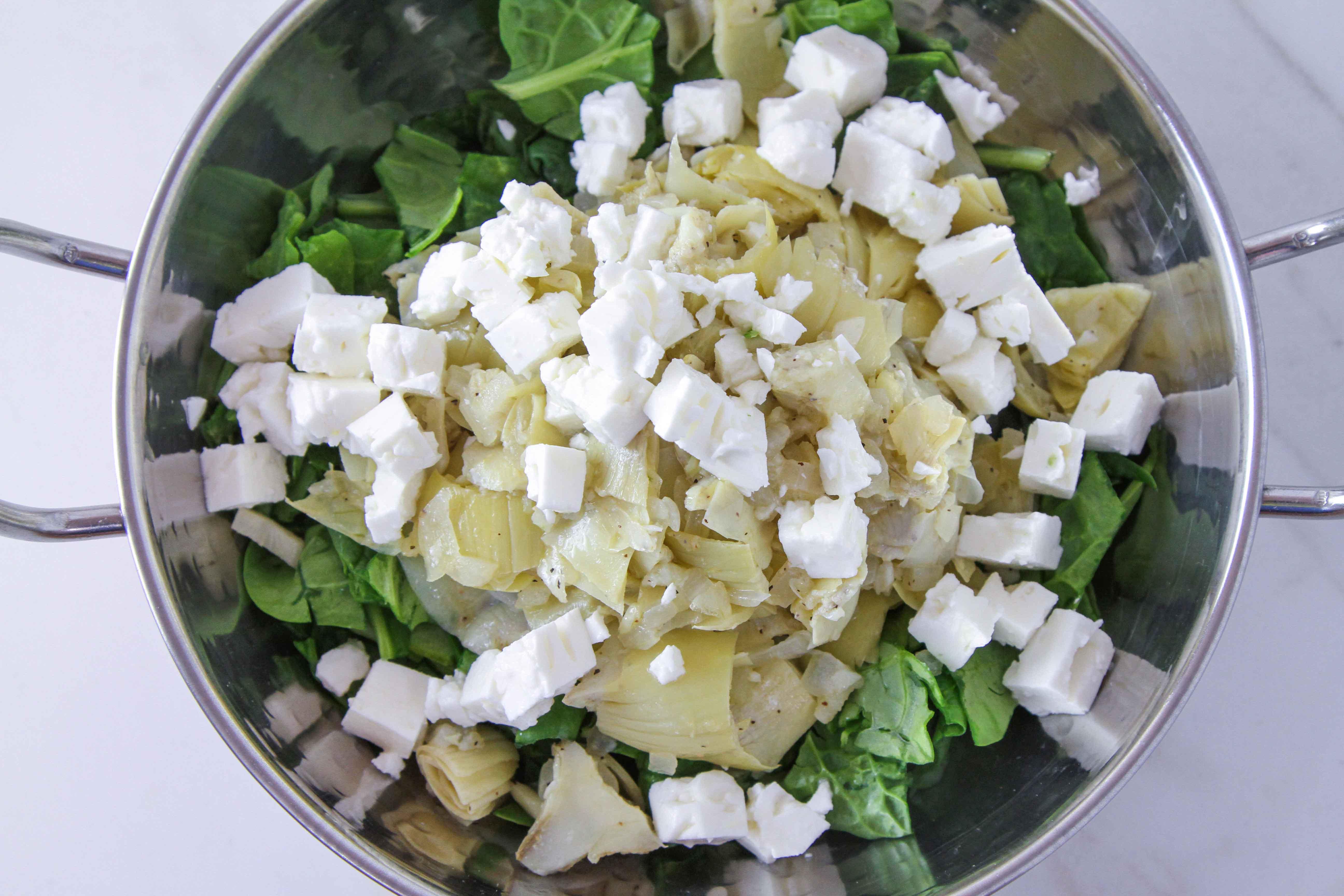 Spinach Artichoke & Feta