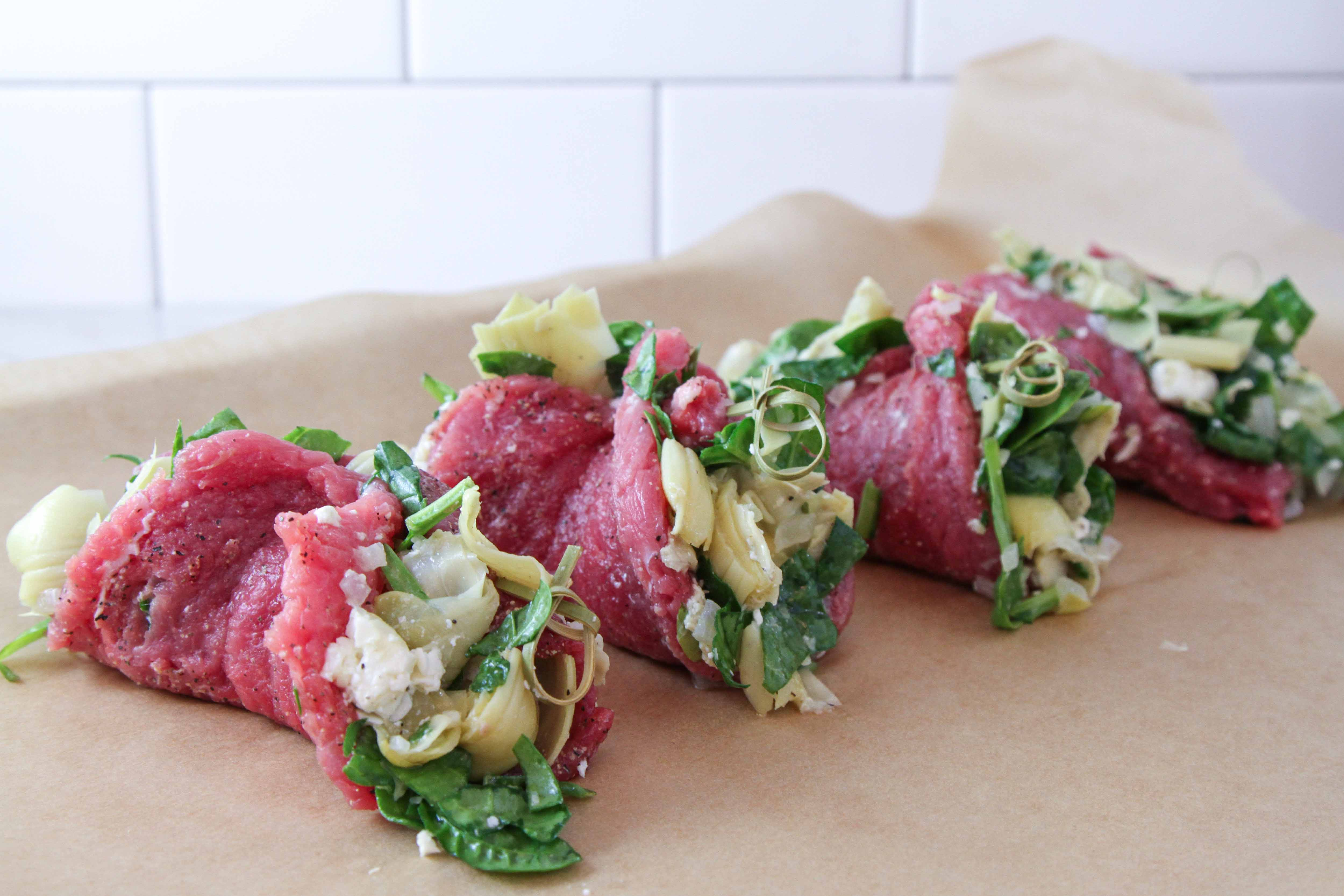 Stuffed Sirloin Steak