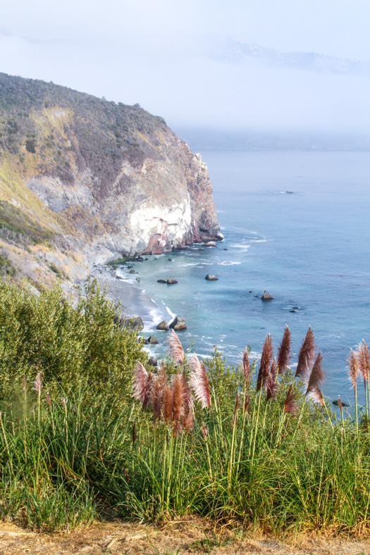 Big Sur Cliff View