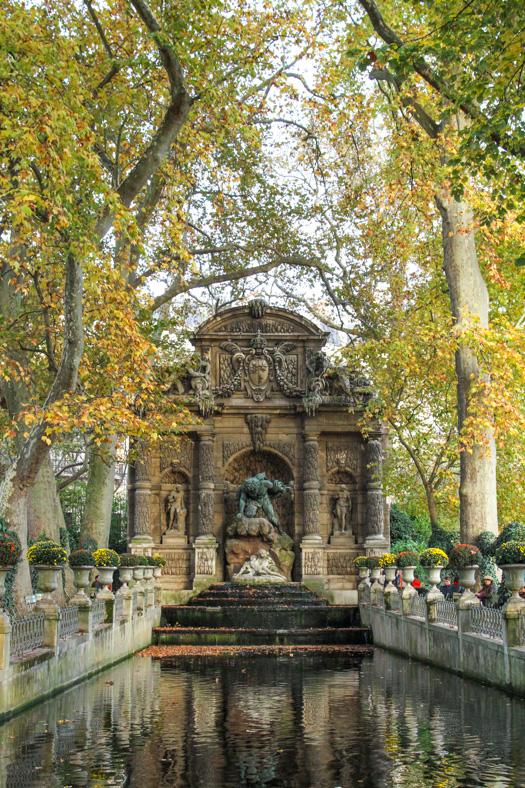 Le Jardin du Luxembourg - Fontaine Médicis