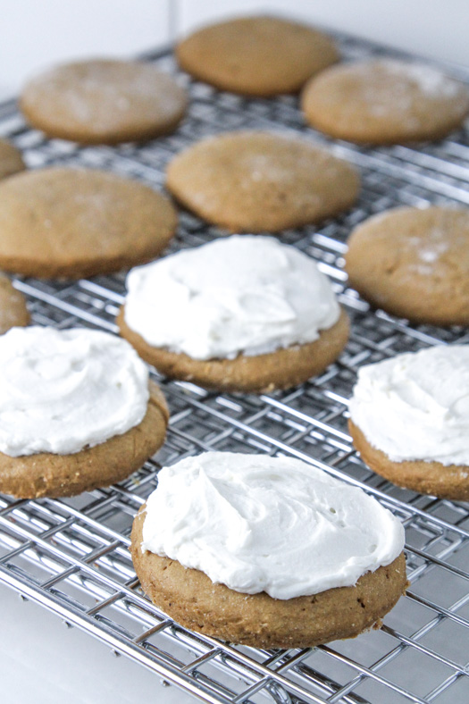 Frosting Christmas Cookies