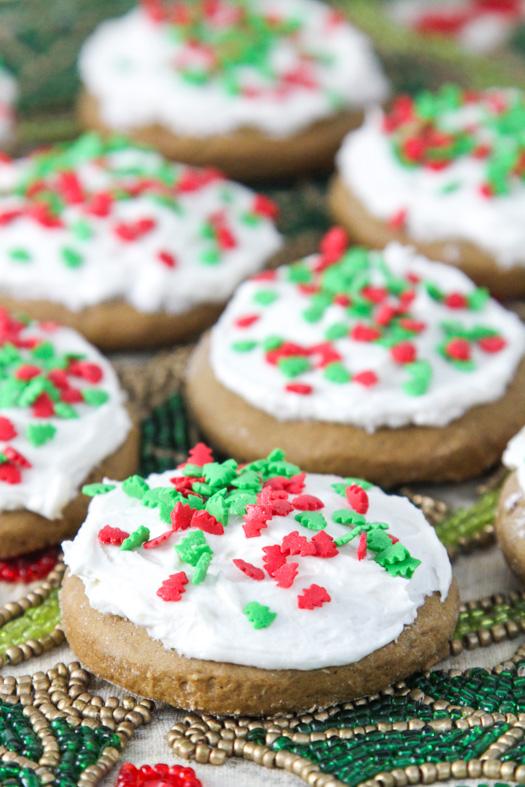 Gingerbread Lofthouse Cookies