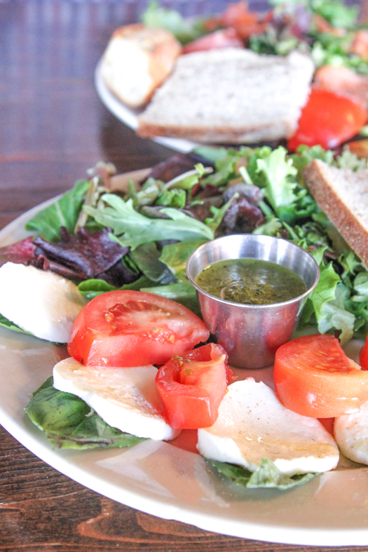 Blue Dahlia Mozzarella Salad