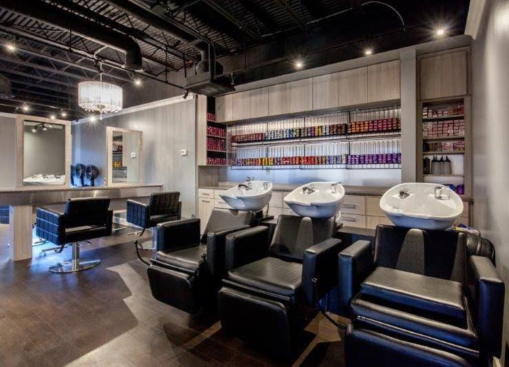 Hair Salon Body & Soul salon chairs