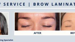 Brow lamination | Hair Salon Body & Soul