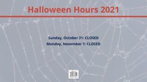 Halloween Hours 2021