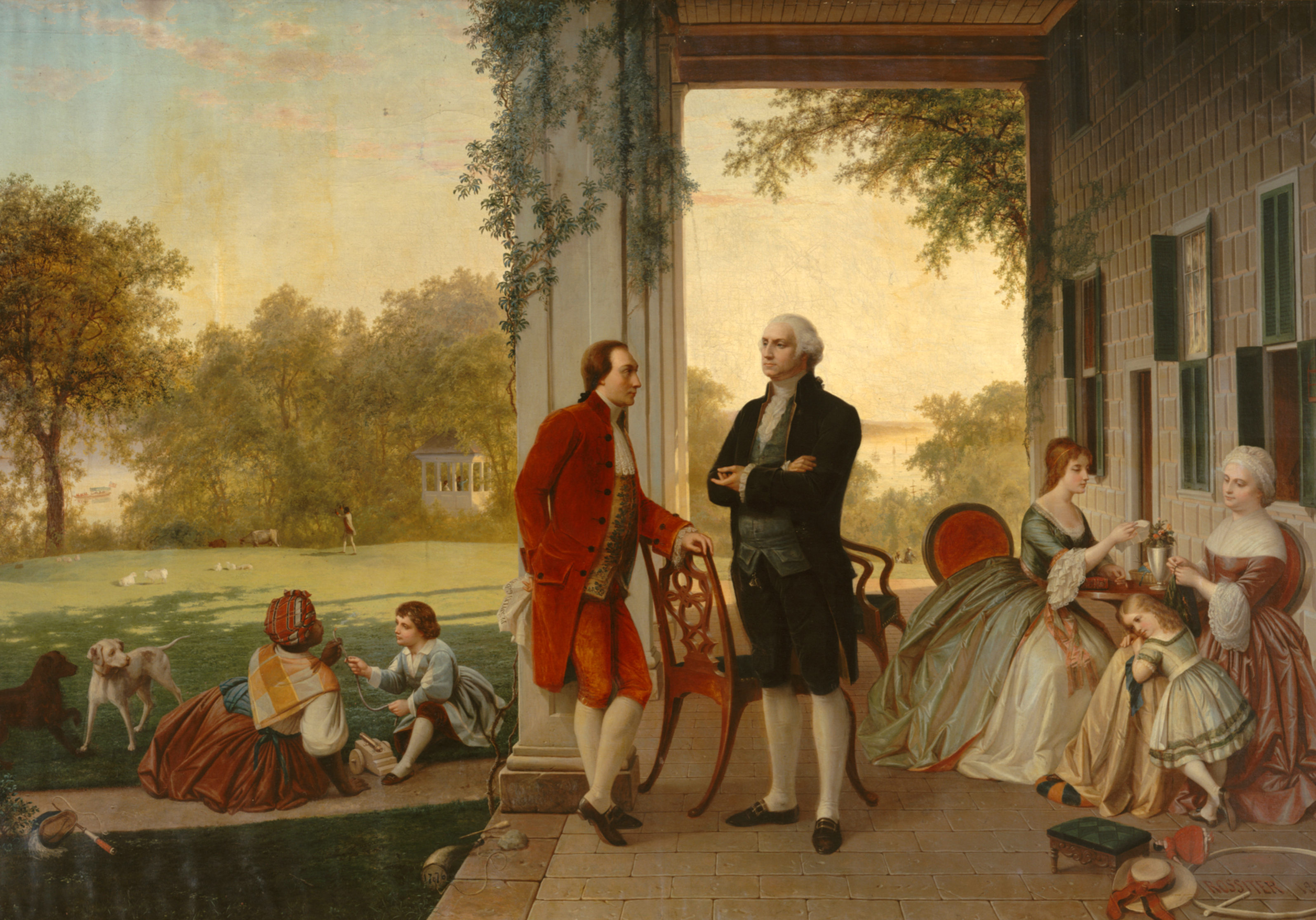 Washington_and_Lafayette_at_Mount_Vernon,_1784_by_Rossiter_and_Mignot,_1859