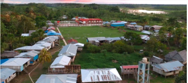 Aerial view of Libertad