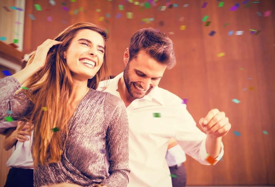 couple-enjoying-engagement-party