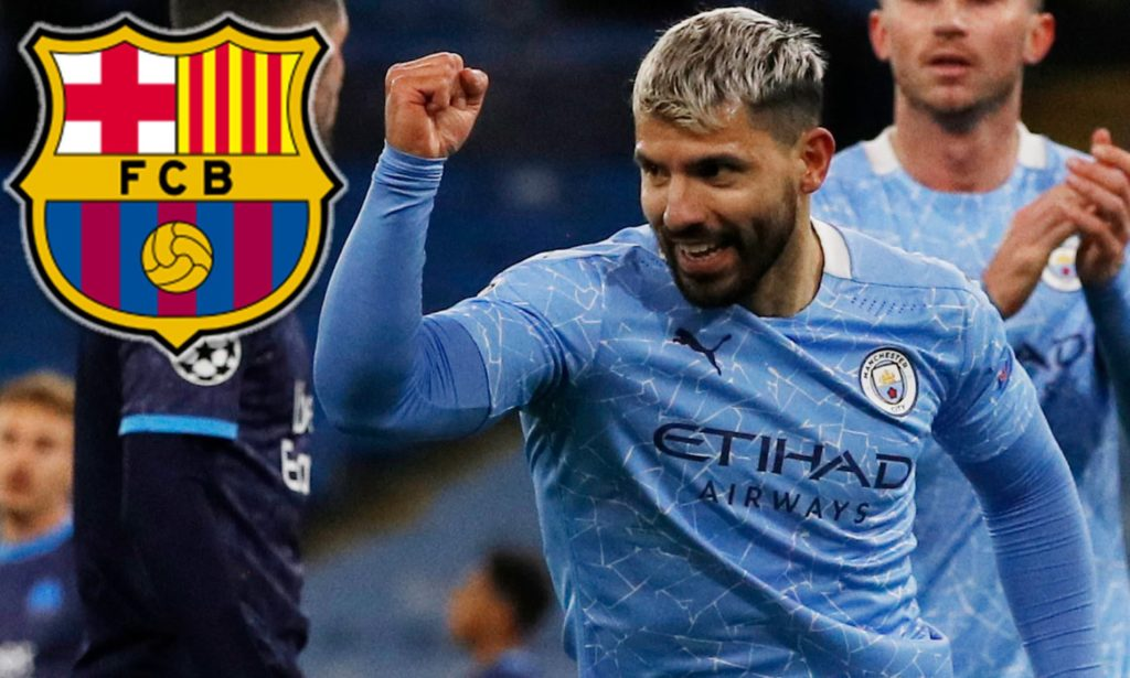 Barcelona sign Manchester City's Sergio Aguero on two-year deal