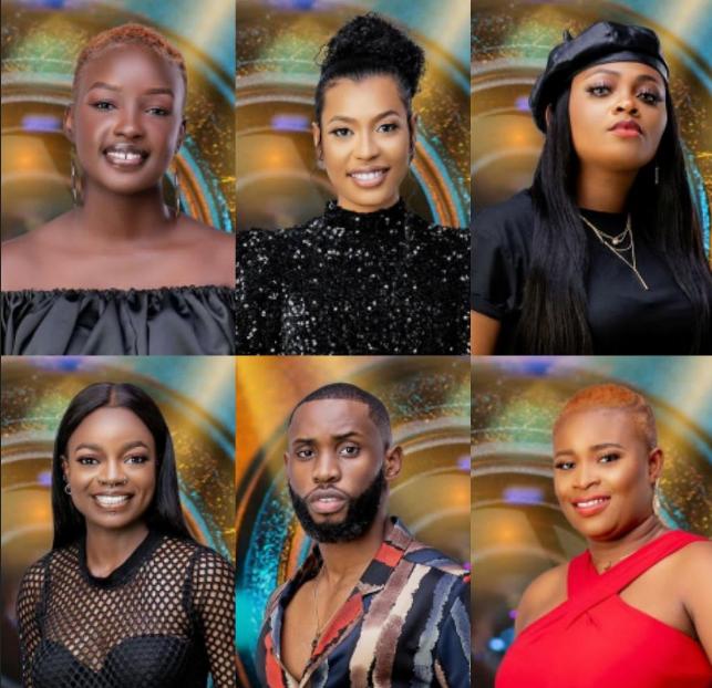 BBNaija 2021: Arin, Emmanuel, Nini, Princess, Saskay & Tega have been nominated for eviction