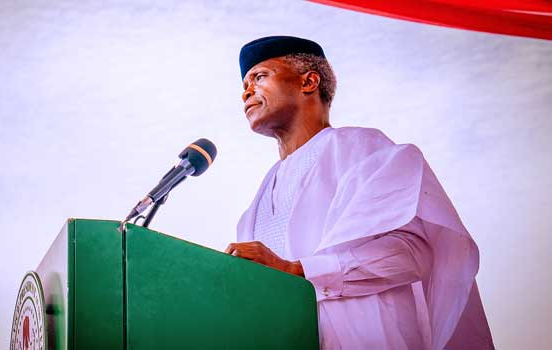 Vice President, Professor Yemi Osinbajo restates Federal Government's commitment to improving livelihood of police personnel