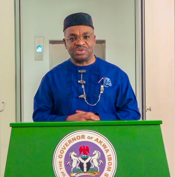 Akwa Ibom State Governor, Udom Emmanuel inaugurates 3- classroom block constructed by Uruan local government administration