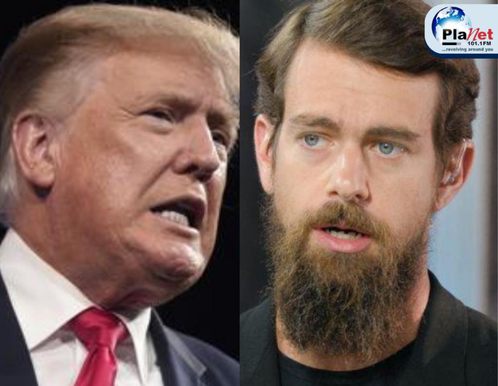 Donald Trump vs Jack Dorsey