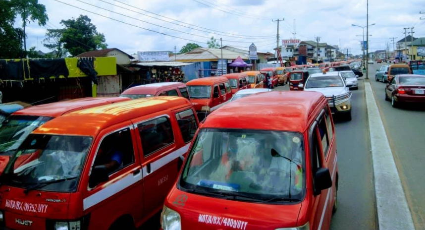 Commercial mini bus drivers in Uyo, accuse members ofTask force team from Akwa Ibom State Ministry of Transport of indiscriminate harassment and arrest