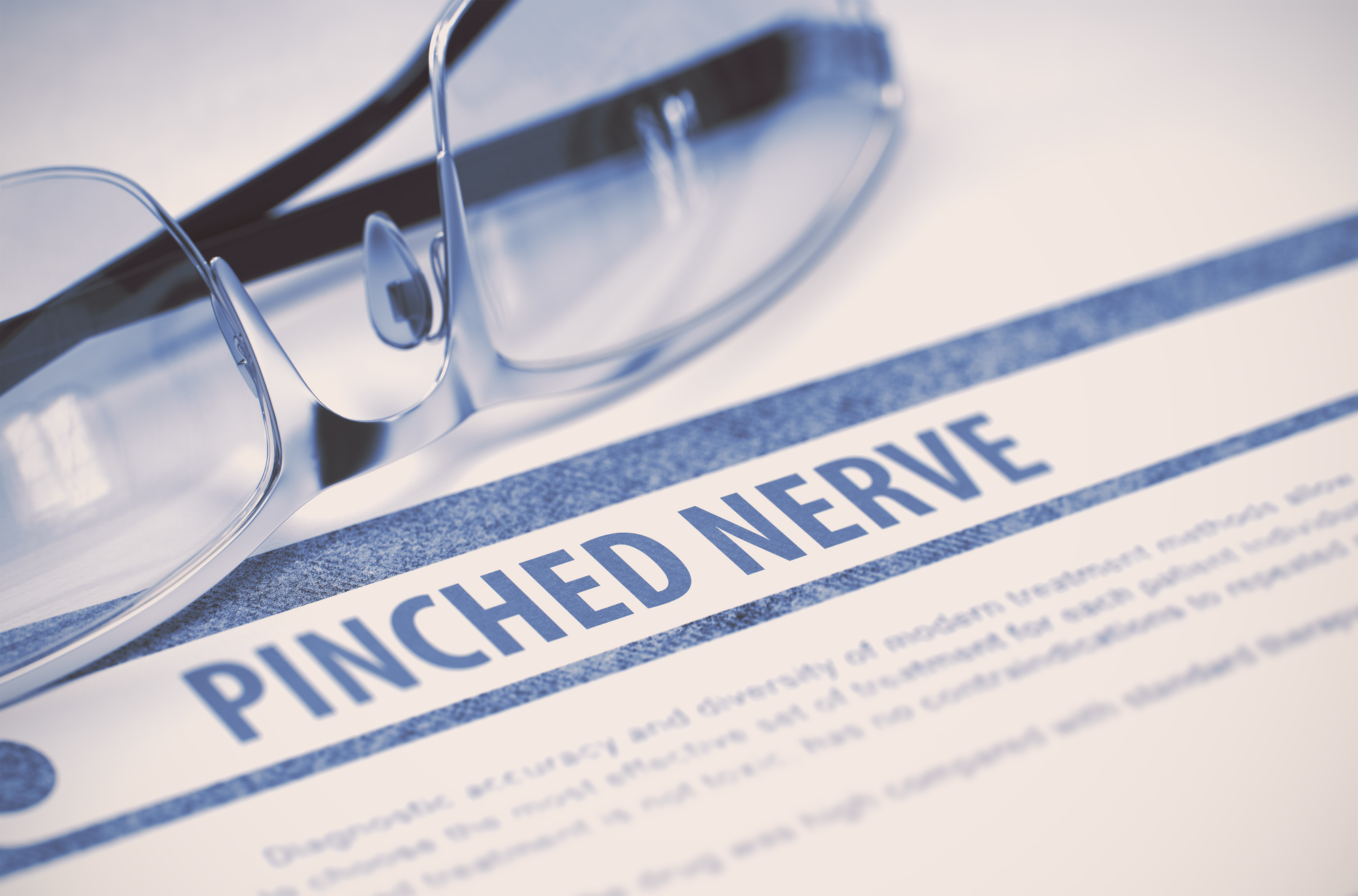 how to deal with a pinched nerve