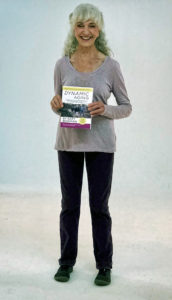 Co-author Lora with book Dynamic Agingn