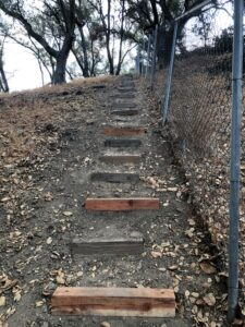 New Action Stairs at the Ranch