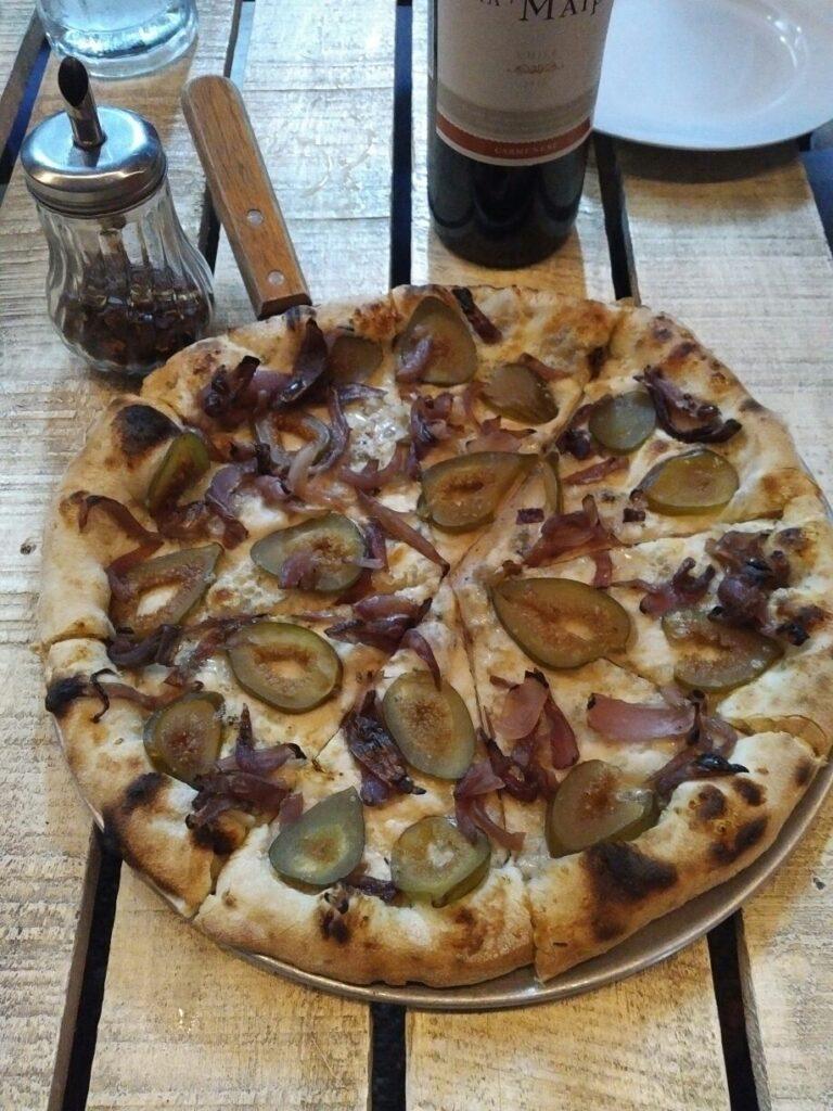 Higos Cebolla Caramelizada y Gorgonzola