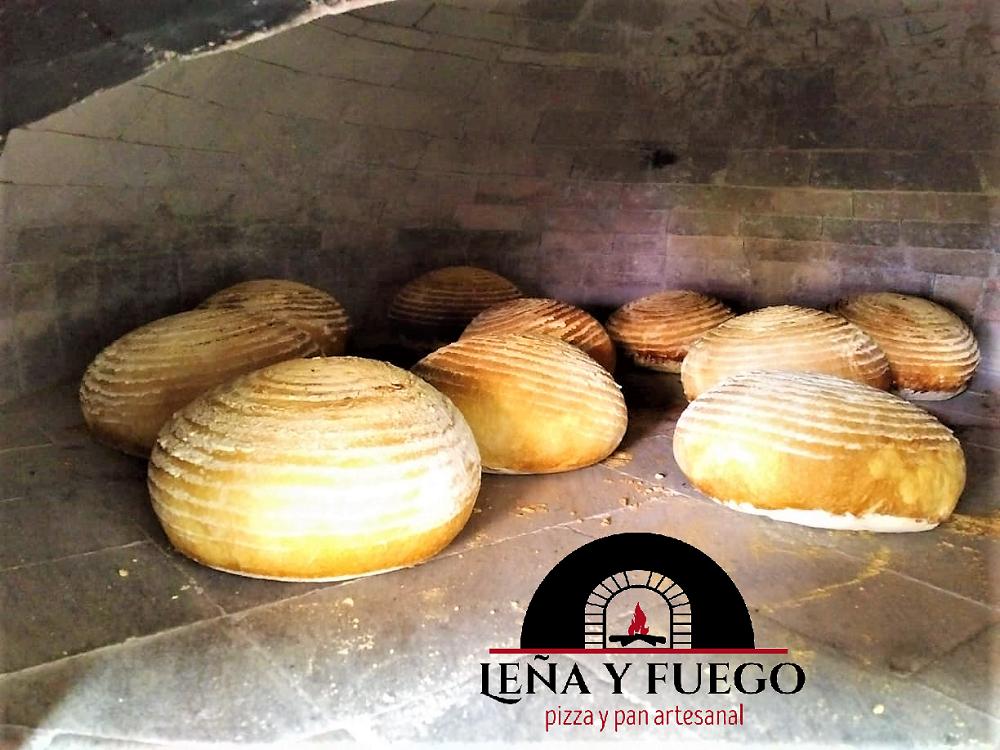 Sourdough Boules in oven