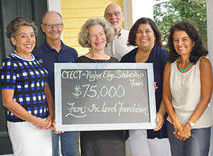 Higher Edge Receives Grant from The Lord Foundation for Scholarships