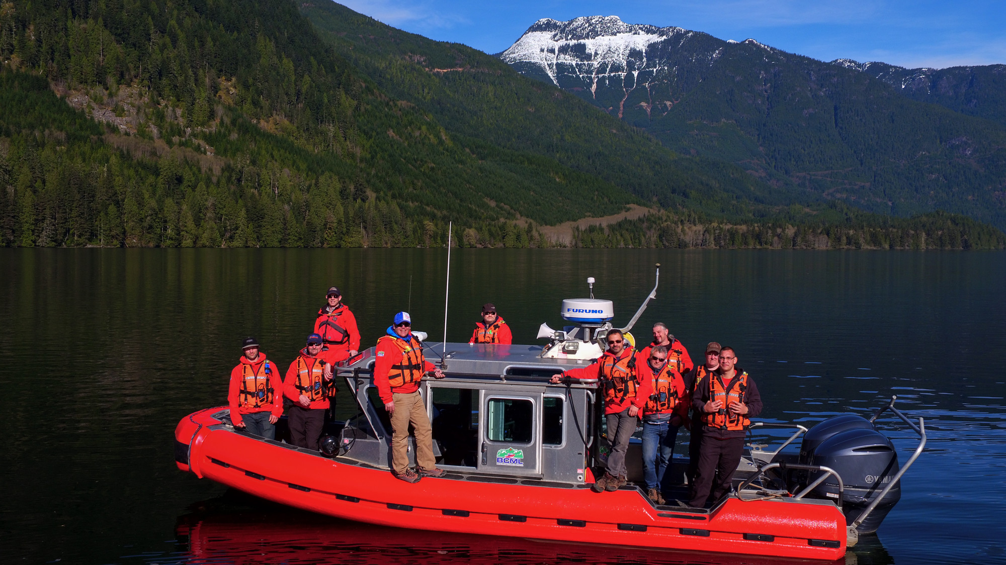 crew fast rescue boat