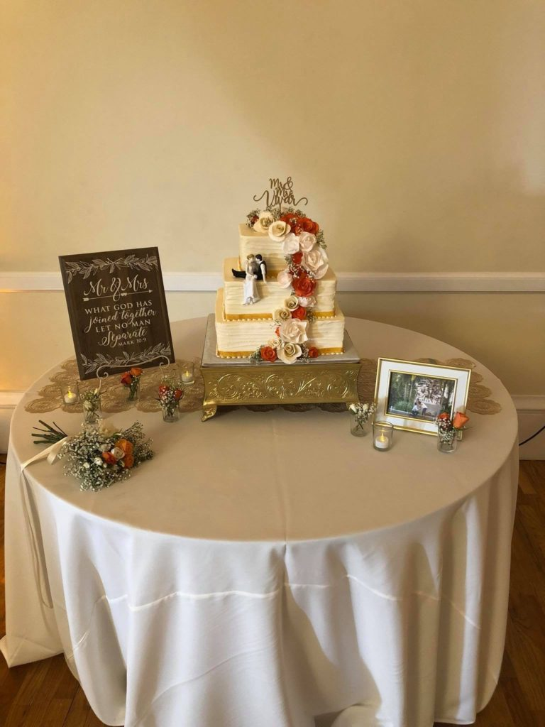 Ivory Poly Tablecloth