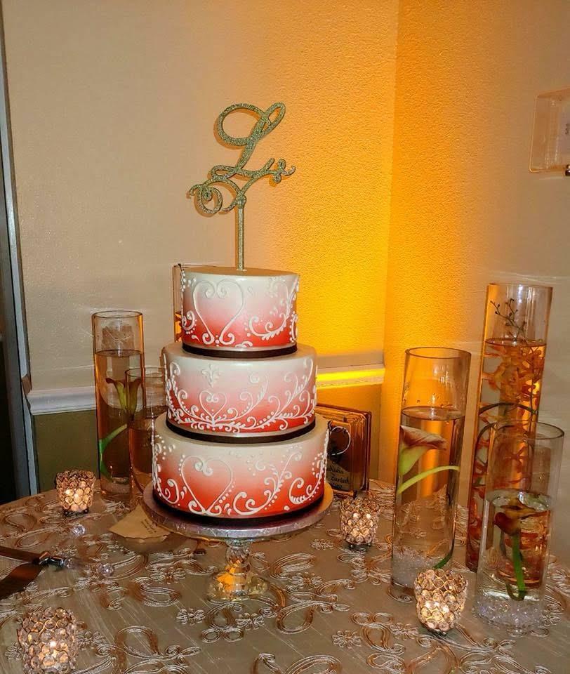 Champagne Jasmine Lace Overlay