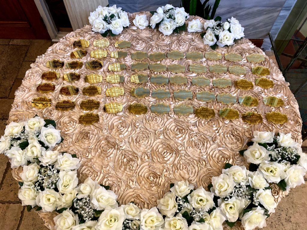 Blusch Rosette Tablecloth