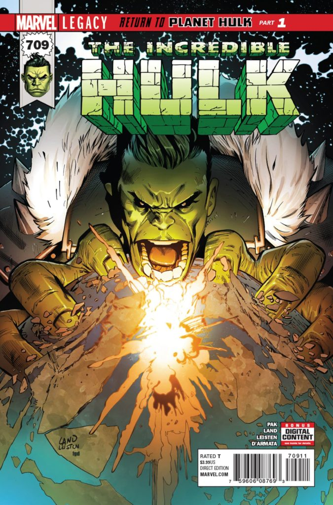 The Incredible Hulk #709