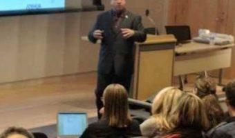 Joe Solomon at Rhode Island College