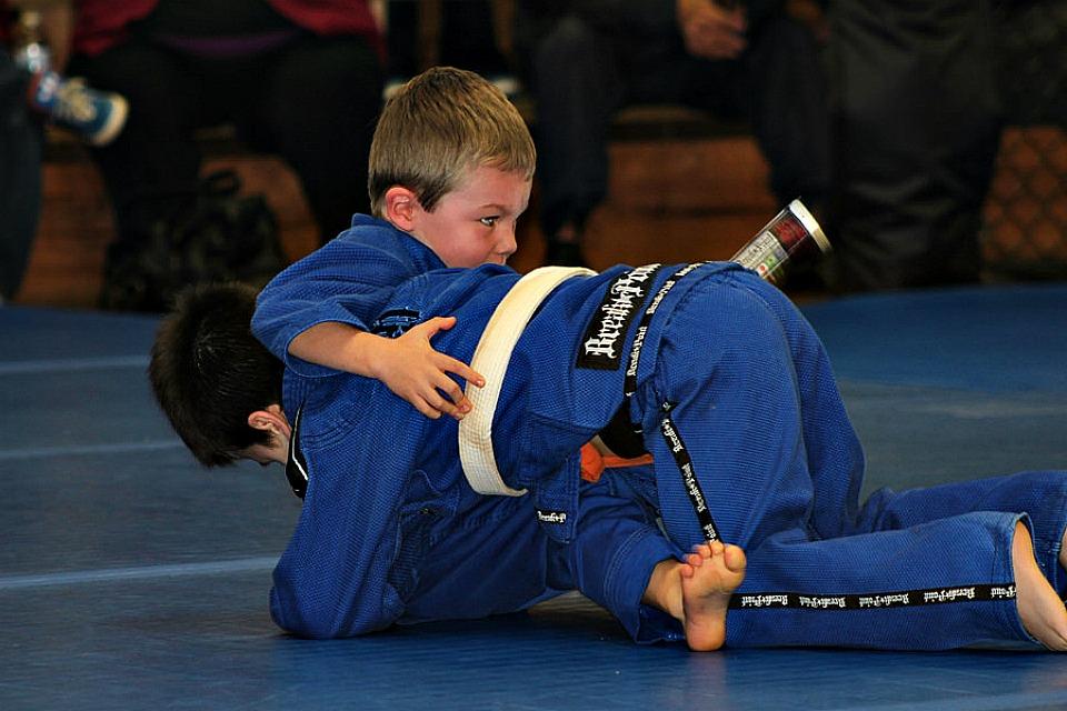 Next Level Jiu Jitsu Kids Program Collage