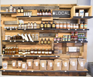 Local Product Wall