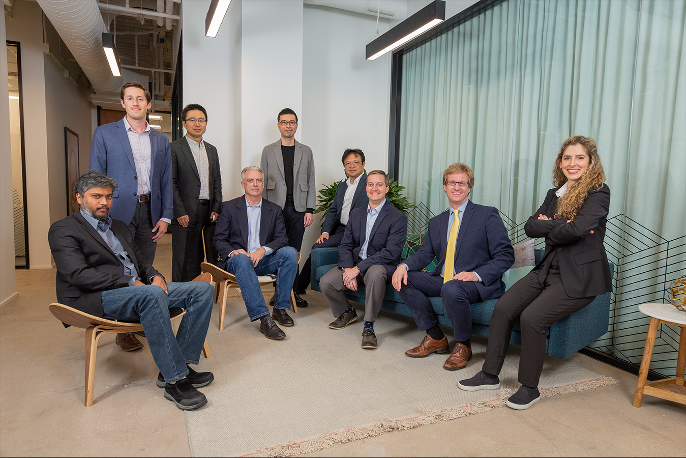 portrait of office group