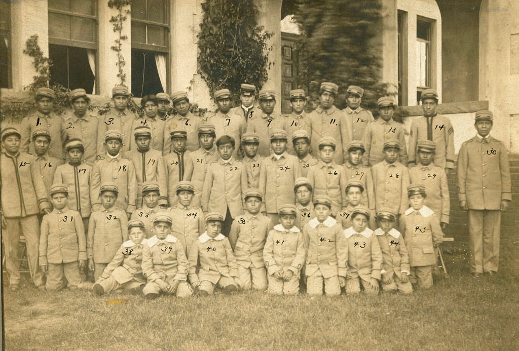 Sherman Group of Boys