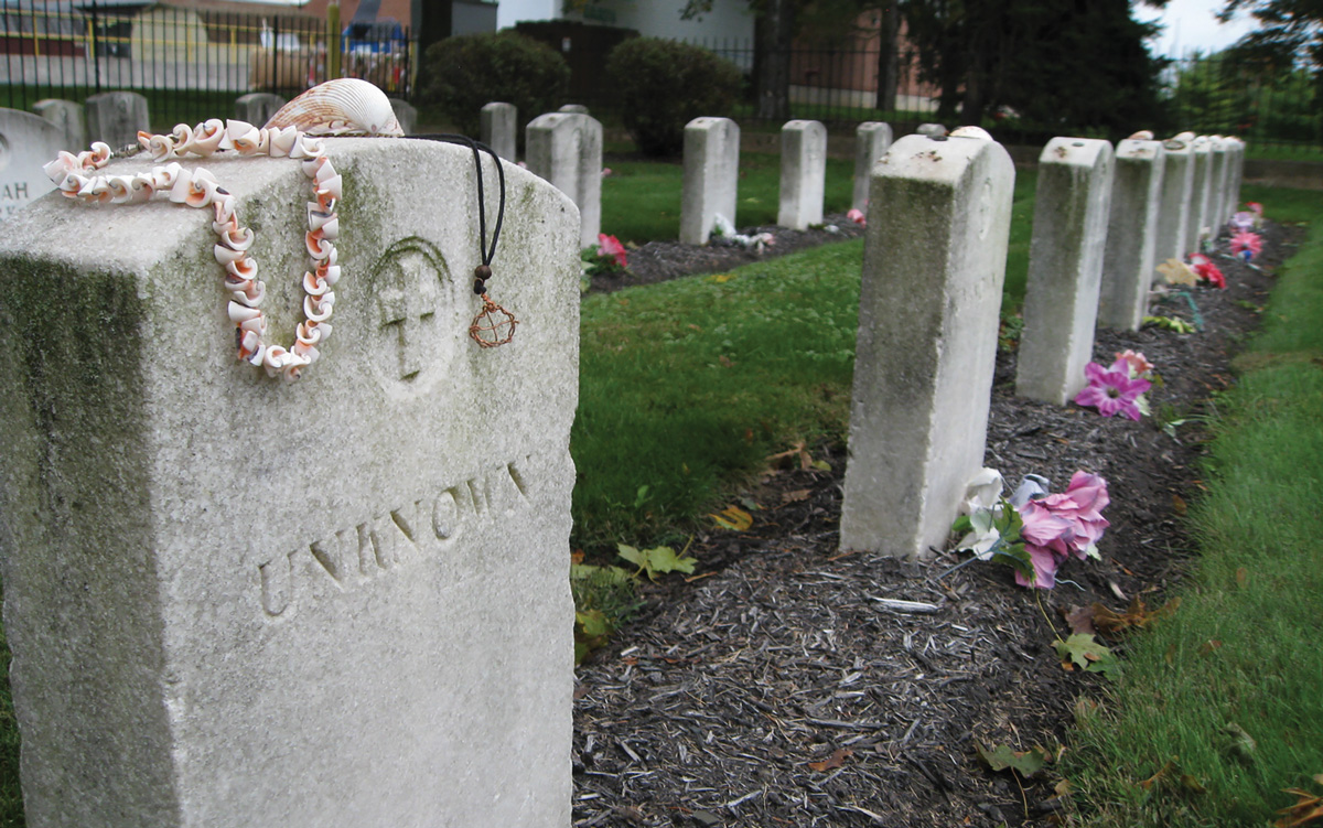 Row of Tombstones
