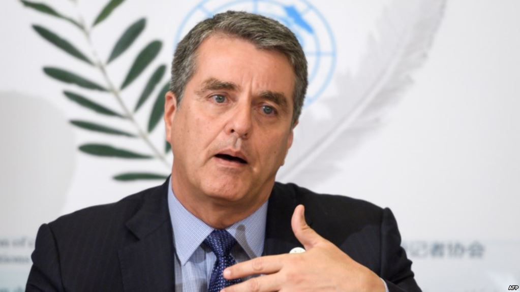 世贸组织总干事阿泽维多谈中美贸易争端