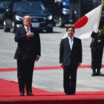 川普和日本天皇