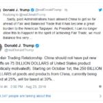 川普震怒!发推对中国产品加税到30%
