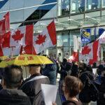 加拿大列治文市的挺香港活动