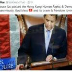 Hong Kong Human Rights & Democracy Act