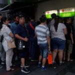 挤兑潮浮现?港人涌ATM领钱 部分银行现钞一度短缺