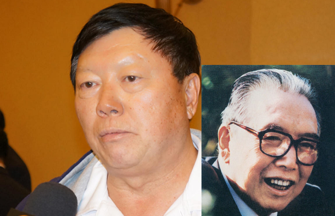 吴晓镛和他的父亲吴学谦