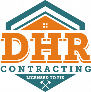 DHR Contracting Logo full color