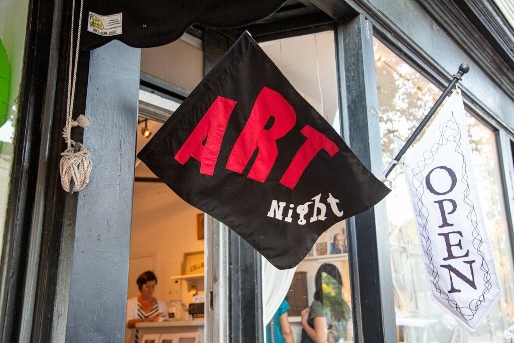 Warren Art Night