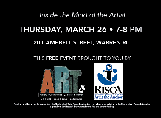Meet The Artist Postcard March Back