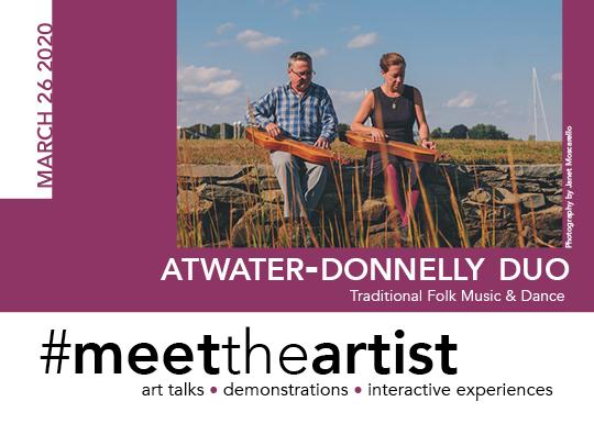 Meet The Artist Postcard March Front
