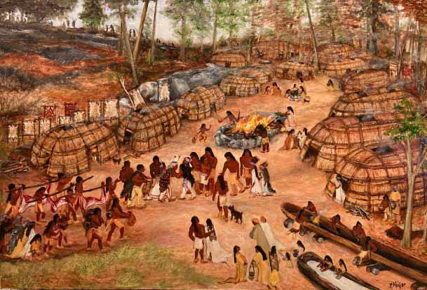 Massasoit Ousamequin's Village of Sowams by Ruth Major
