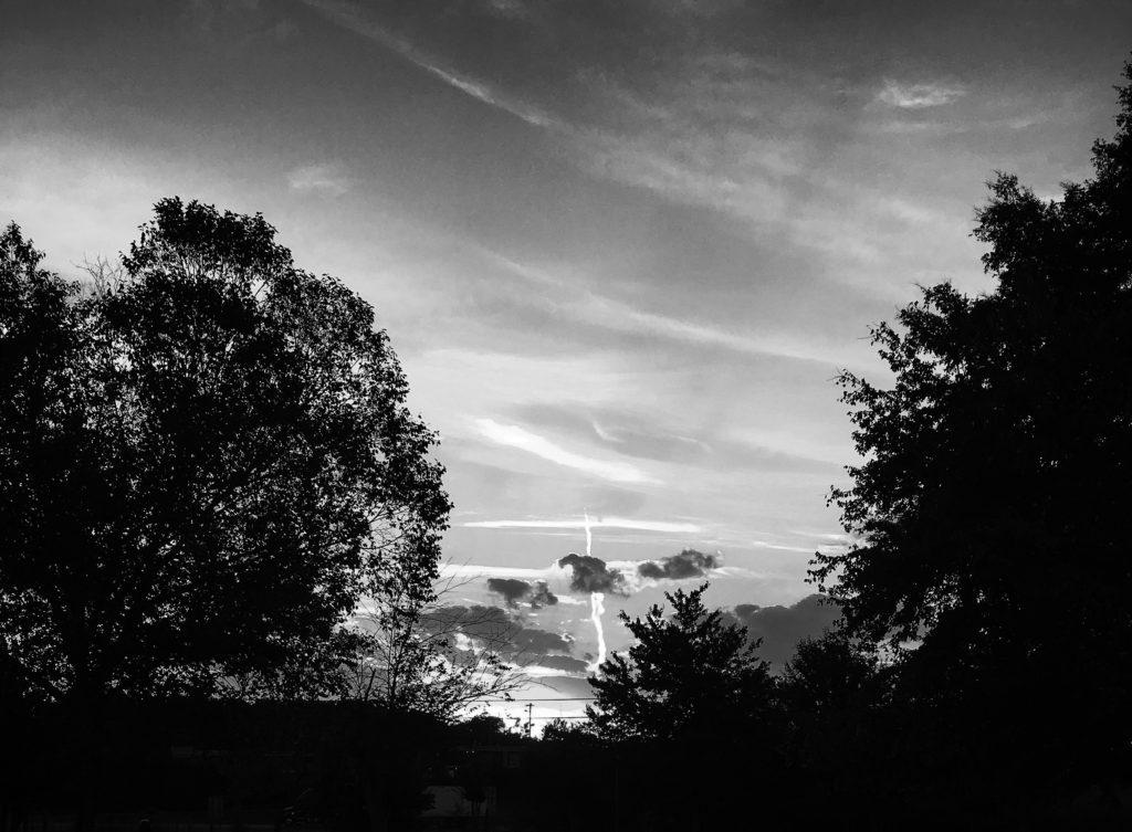 Auburn Sky - B&W